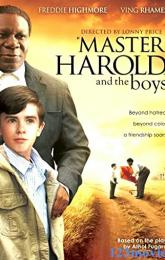 'Master Harold' ... And the Boys poster